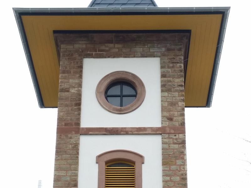 Kirche mit Prefa Dachschindeln