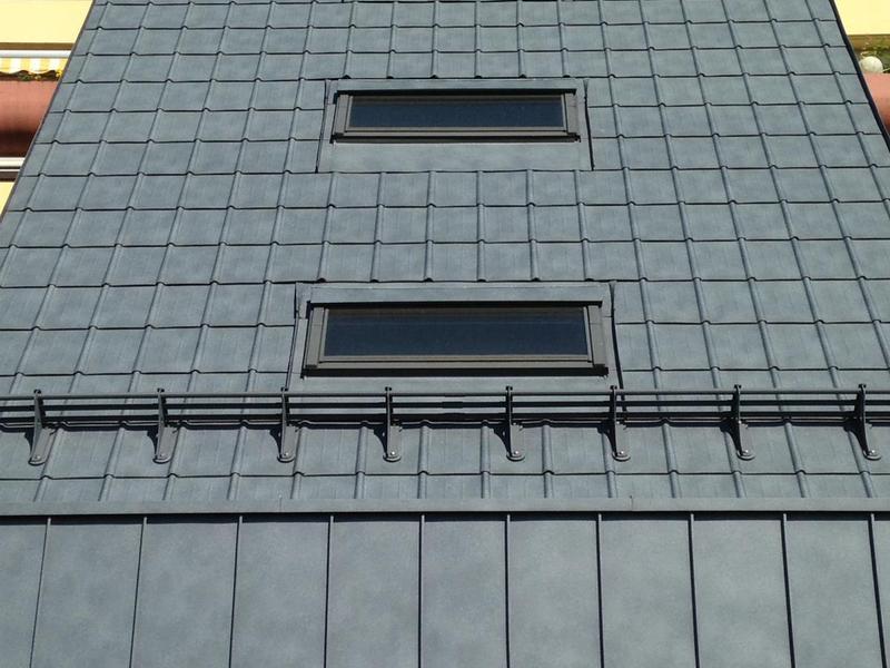 Prefa Dachplatte steingrau